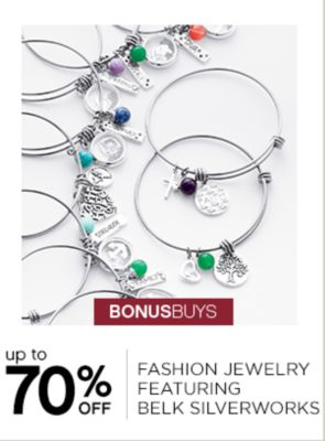 BONUSBUYS | up to 70% OFF | FASHION JEWELRY FEATURING BELK SILVERWORKS