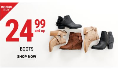 24.99 and up boots