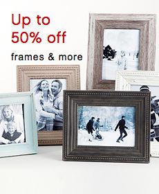 Up to 50% off frames & more