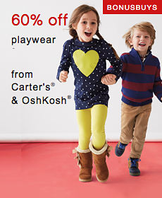 Bonus Buys | 60% off playwear from Carter's® & OshKosh®