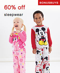 Bonus Buys | 60% off sleepwear