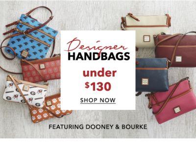 Designer HANDBAGS under $130 SHOP NOW | FEATURING DOONEY & BOURKE