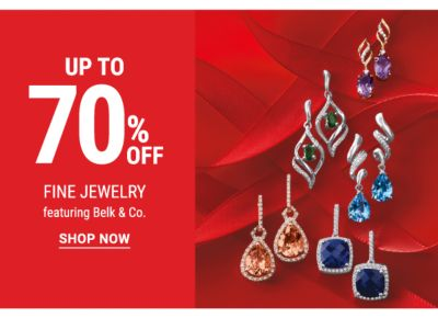 Up to 70% off Fine Jewelry featuring Belk & Co. Shop Now.