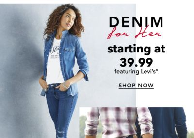 DENIM for Her starting at 39.99 featuring Levi's® shop now