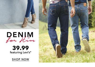 DENIM for Him | 39.99 featuring Levi's® | SHOP NOW