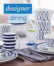 designer dining shop now