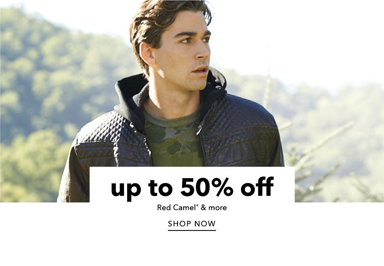 Up to 50% off Red Camel and more. Shop now