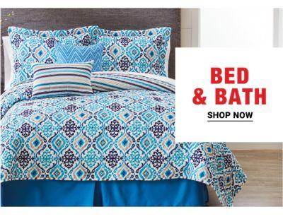 Bed & Bath. Shop Now.