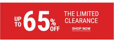 Up to 65% off The Limited Clearance. Shop Now.