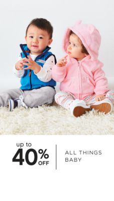 up to 40% OFF | ALL THINGS BABY