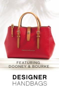 FEATURING DOONEY & BOURKE | DESIGNER HANDBAGS