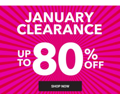 Clearance Blowout! Up to 80% off. Shop Now.