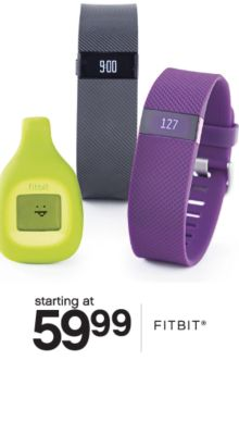 starting at 59.99 | FITBIT®
