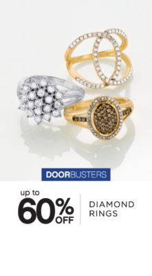 DOORBUSTERS | up to 60% OFF | DIAMOND RINGS