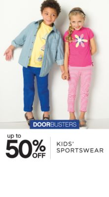 DOORBUSTERS | up to 50% OFF | KIDS' SPORTSWEAR