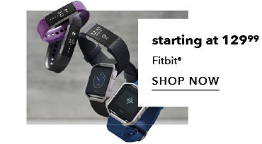 Starting at 129.99 Fitbit | shop now