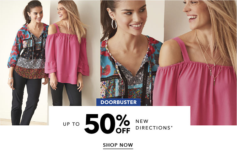 Doorbuster - up to 50% off New Directions® - SHOPNOW
