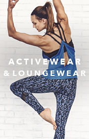Activewear and Loungewear.