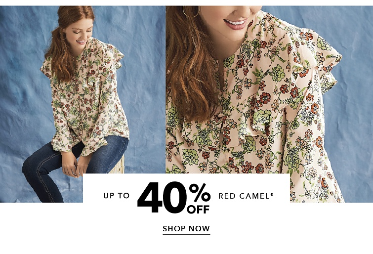 Up to 40 percent off Red Camel. Shop Now.