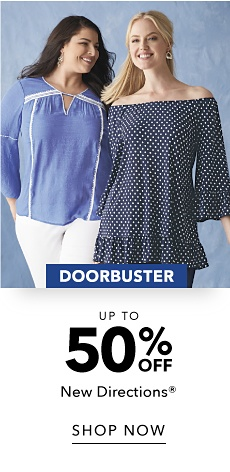 Doorbuster - Up to 50% off New Directions - Shop Now
