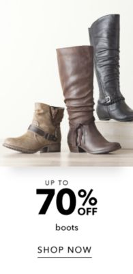 Up to 70% off Boots - Shop Now