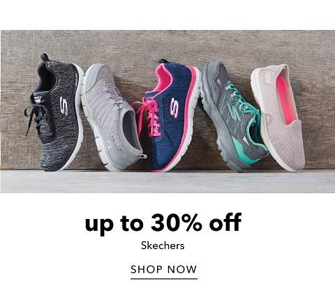 Up to 30% off Skechers - Shop Now