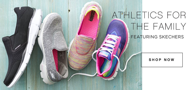 ATHLETICS FOR THE FAMILY featuring Skechers | SHOP NOW