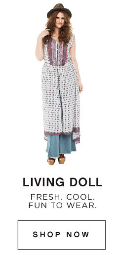 Living Doll | Fresh. Cool. Fun to wear. | shop now
