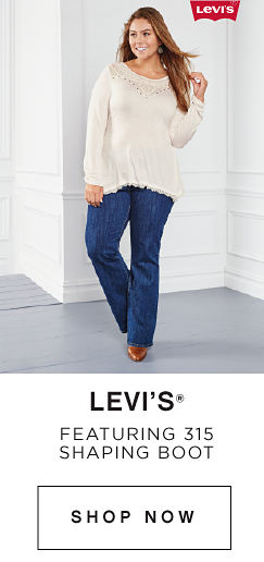 Levi's® | Featuring 315 shaping boot | shop now