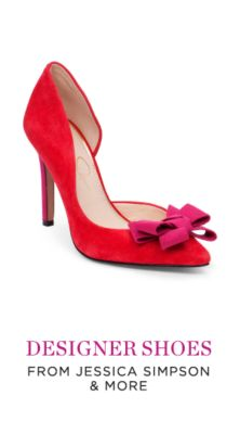 DESIGNER SHOES FROM JESSICA SIMPSON & MORE