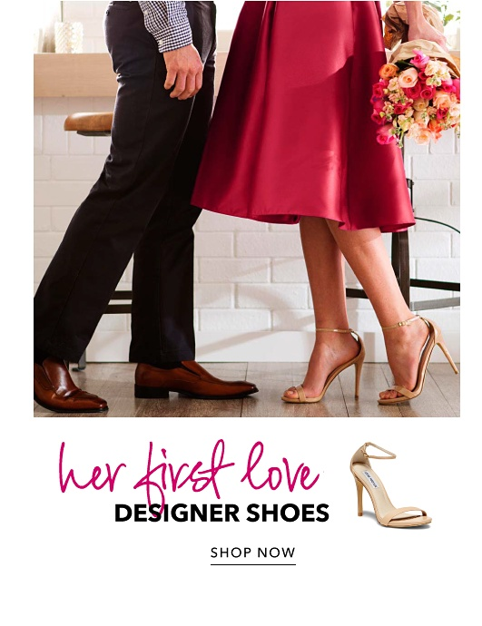 Her First Love - Designer Shoes - Shop Now