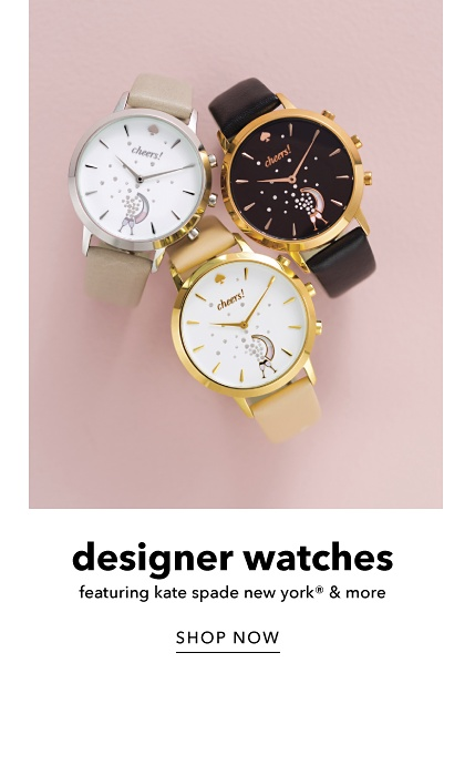 Designer Watches featuring Kate Spade New York & More - Shop Now