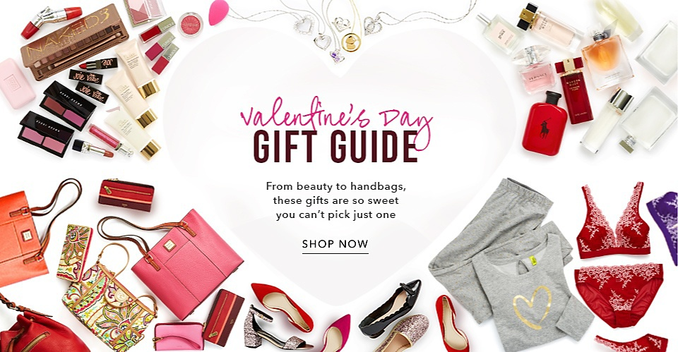 Valentine's Gift Guide - Shop Now