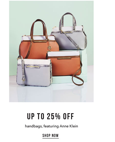 Up to 25% off Handbags featuring Anne Klein - Shop Now