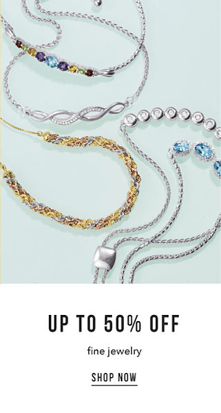 Up to 50% off Fine Jewelry - Shop Now