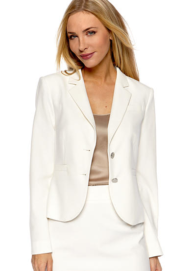 Womens White Jackets & Blazers | Belk