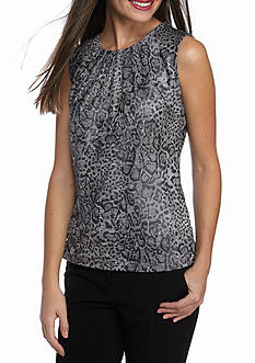 Calvin Klein Print Knit Top