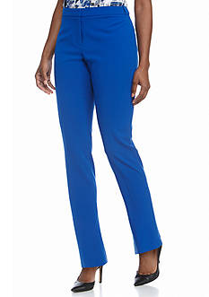 Calvin Klein Solid Flat Pant