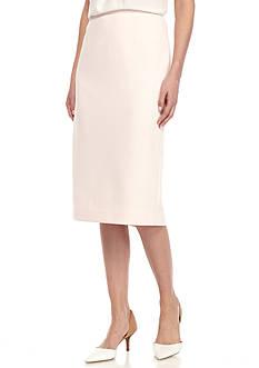 Calvin Klein Crepe Straight Skirt