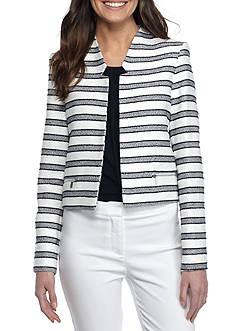Calvin Klein Stripe Flyaway Jacket