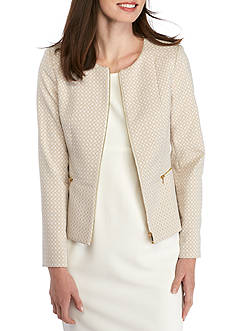 Calvin Klein Zip Front Printed Jacket