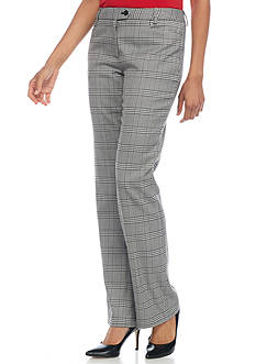Calvin Klein Mini Houndstooth Plaid Pant