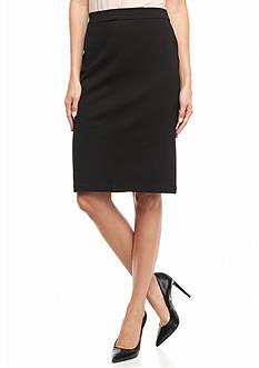 Calvin Klein Ponte Knit Skirt