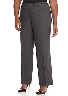 Calvin Klein Plus Size Pin Stripe Pant