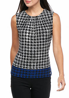 Calvin Klein Plus Size Print Jersey Knit Top