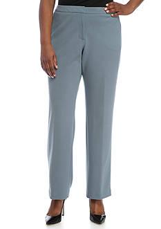 Calvin Klein Plus Size Scuba Crepe Pant