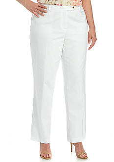 Calvin Klein Plus Size Modern Fit Cotton Pant