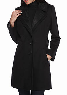 Forecaster Boston Aline with Suede Inset Peacoat