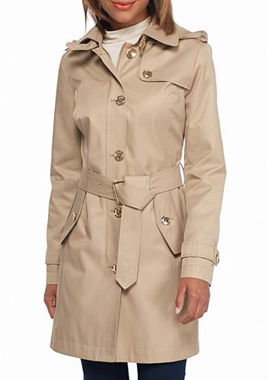 MICHAEL Michael Kors Trench With Hood
