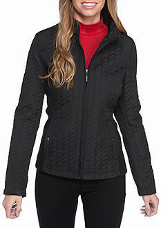 Weatherproof Quilted Poly Jacket